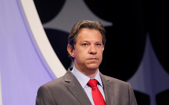 Fernando Haddad participa de debate no SBT