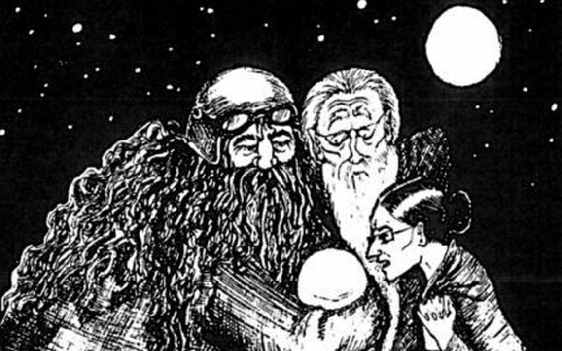 Ilustração da Harry Potter
