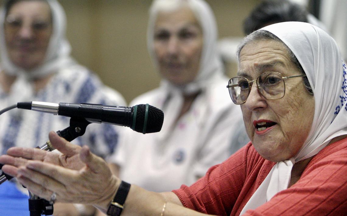 Bonafini é uma das principais faces do movimento social argentino