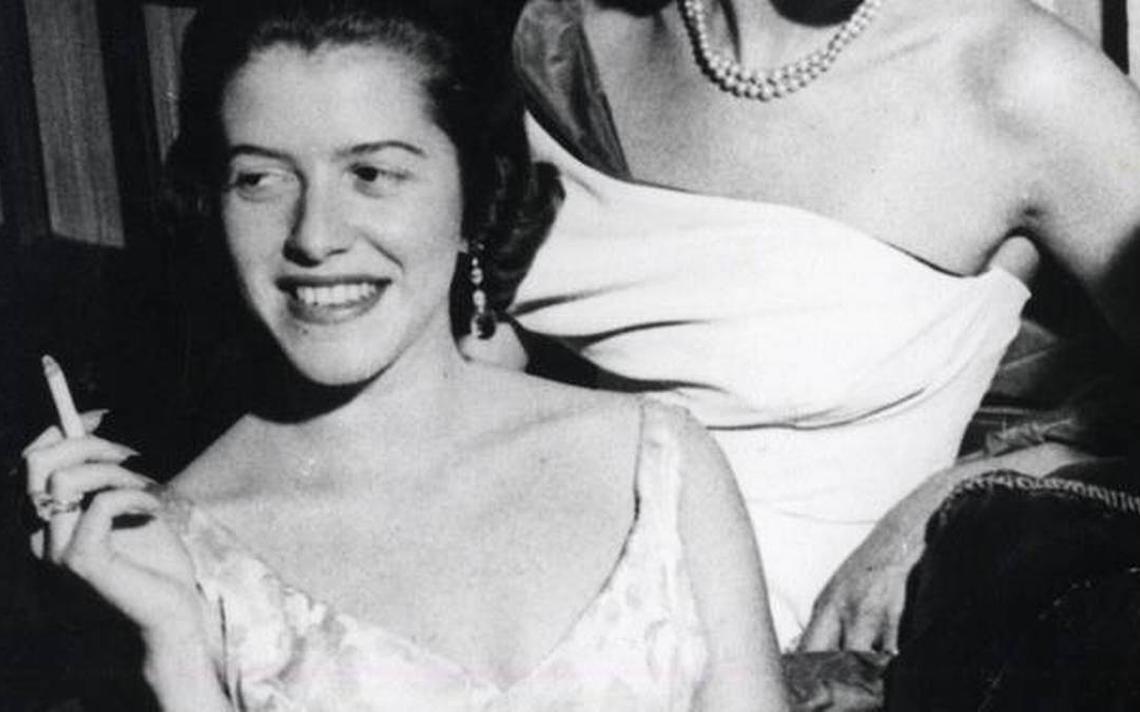 Hilda Hilst e Lygia Fagundes Telles, em 1960