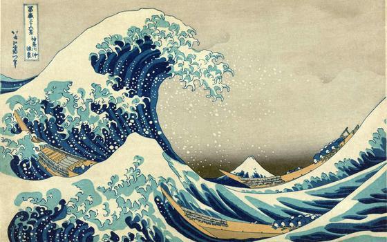A HQ sobre a vida e as obsessões do artista Katsushika Hokusai