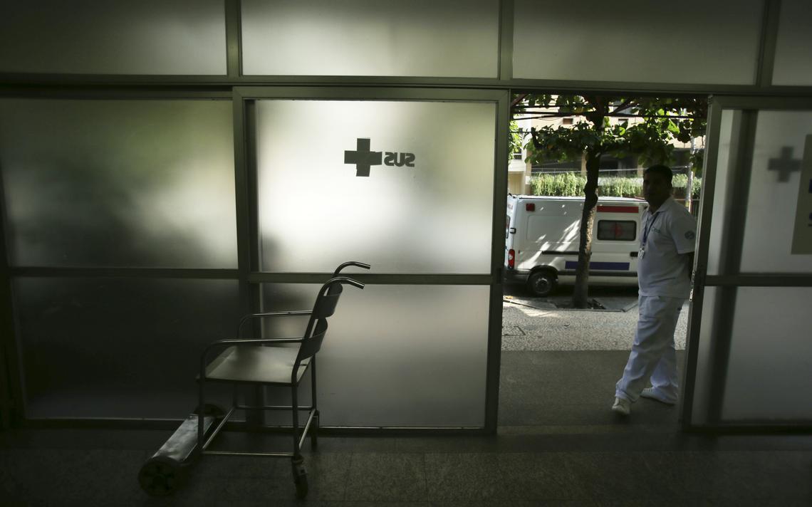 Hospital Miguel Couto, no Rio