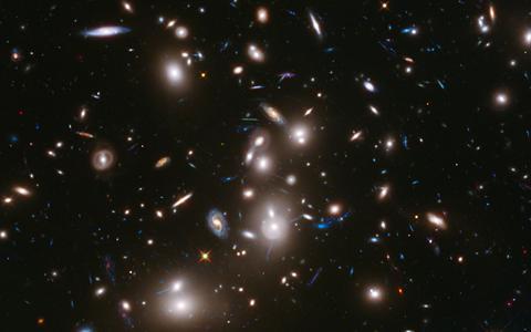 Qual parte do universo a Nasa captou no dia do seu aniversário