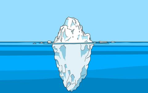 Um site para desenhar icebergs e descobrir como eles flutuam