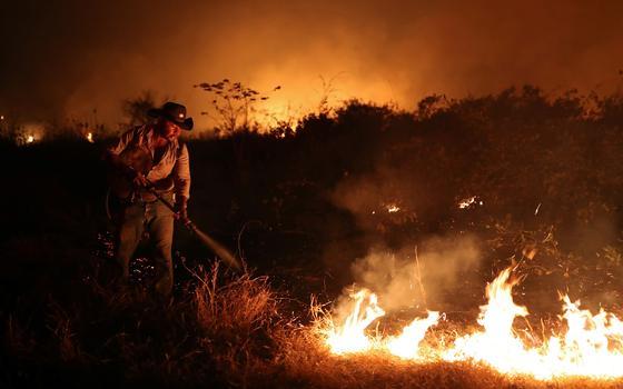 Incêndios voltam a atingir Pantanal após onda de fogo em 2020