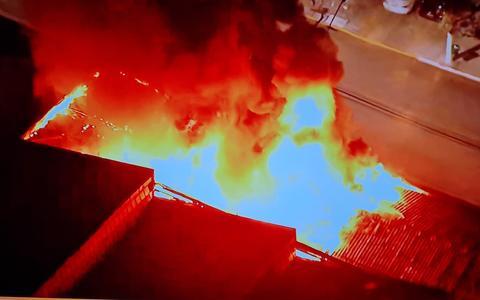 Incêndio destrói depósito da Cinemateca Brasileira