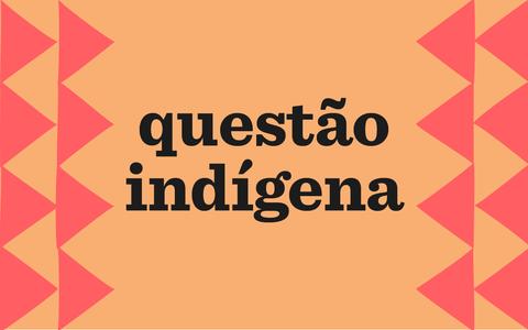 A questão indígena no Brasil, no passado e no presente