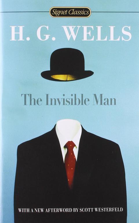 """Capa de """"O homem invisível"""", clássico de 1897"""