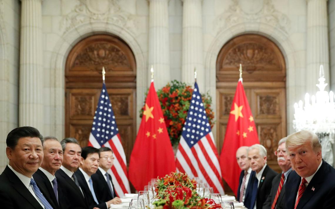 Jantar entre chineses e americanos selou a trégua em Buenos Aires