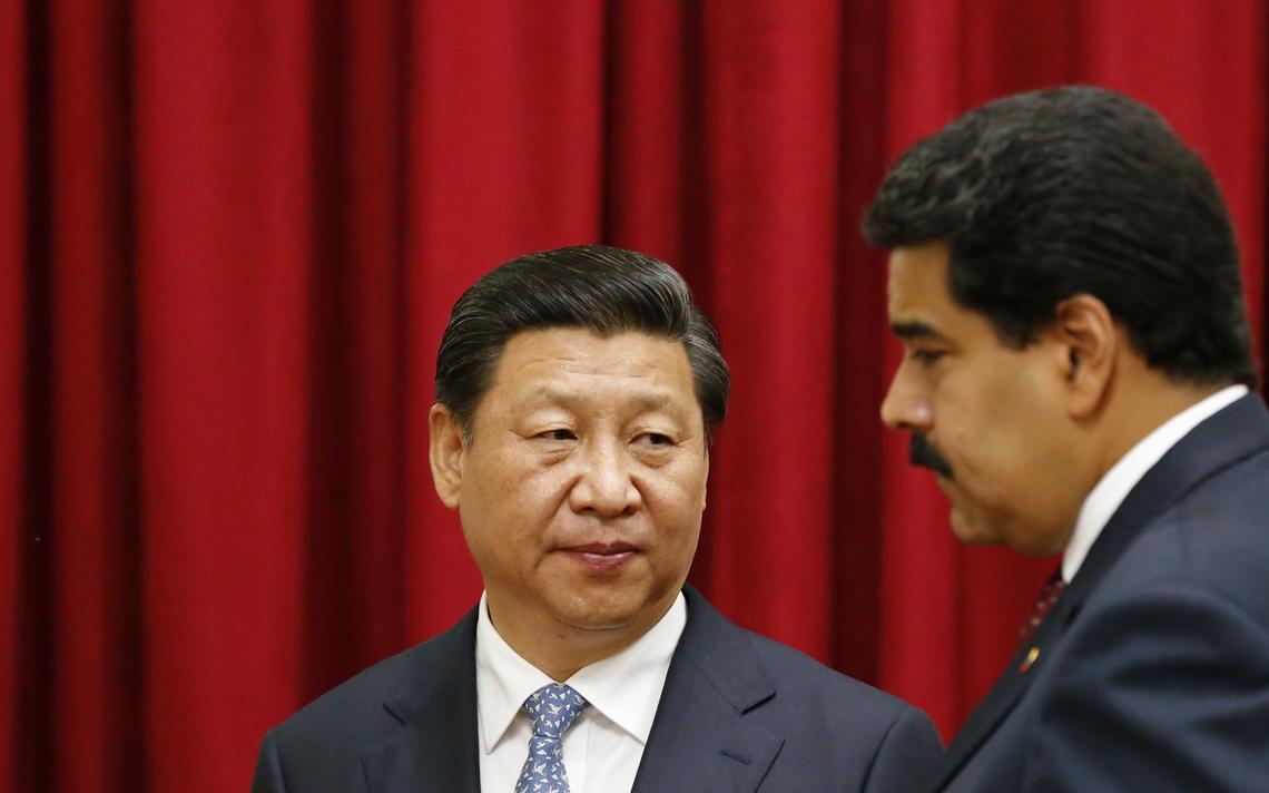 Governantes da Venezuela e China se encontram