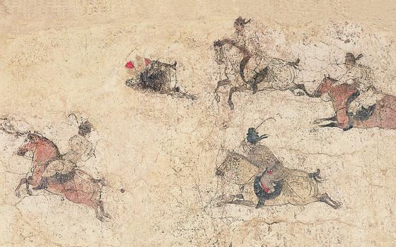 As evidências do jogo de bolas mais antigo da Ásia