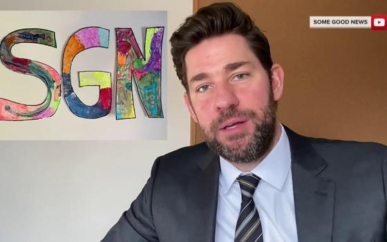 O canal de vídeo dedicado a apresentar só notícias boas
