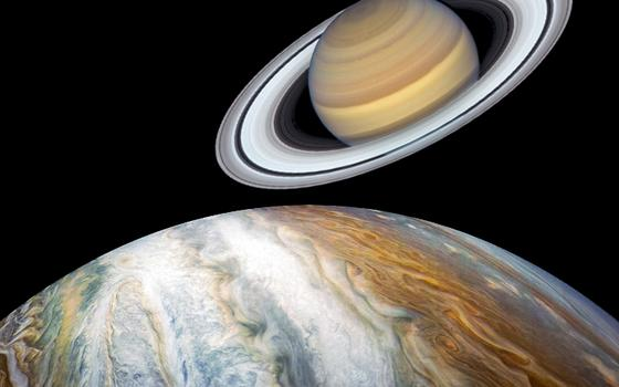 Como ver a rara conjunção entre Júpiter e Saturno