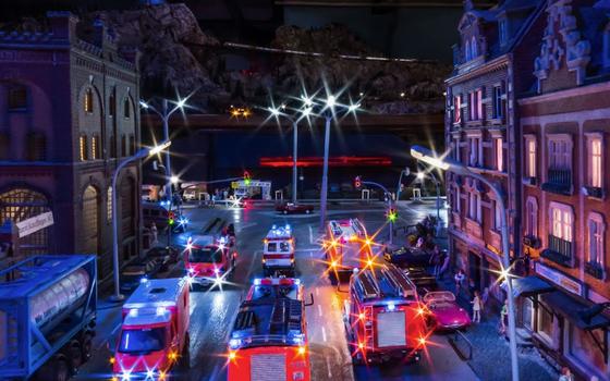 Google Street View registra imagens de cidade em miniatura