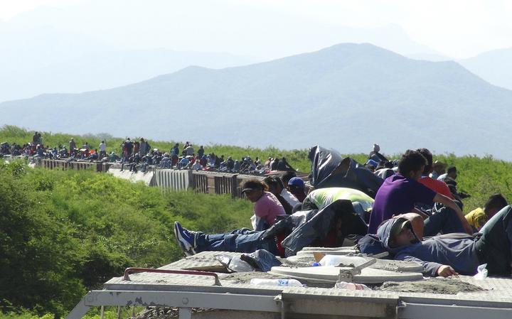 Principal forma de centro-americanos atravessarem o México
