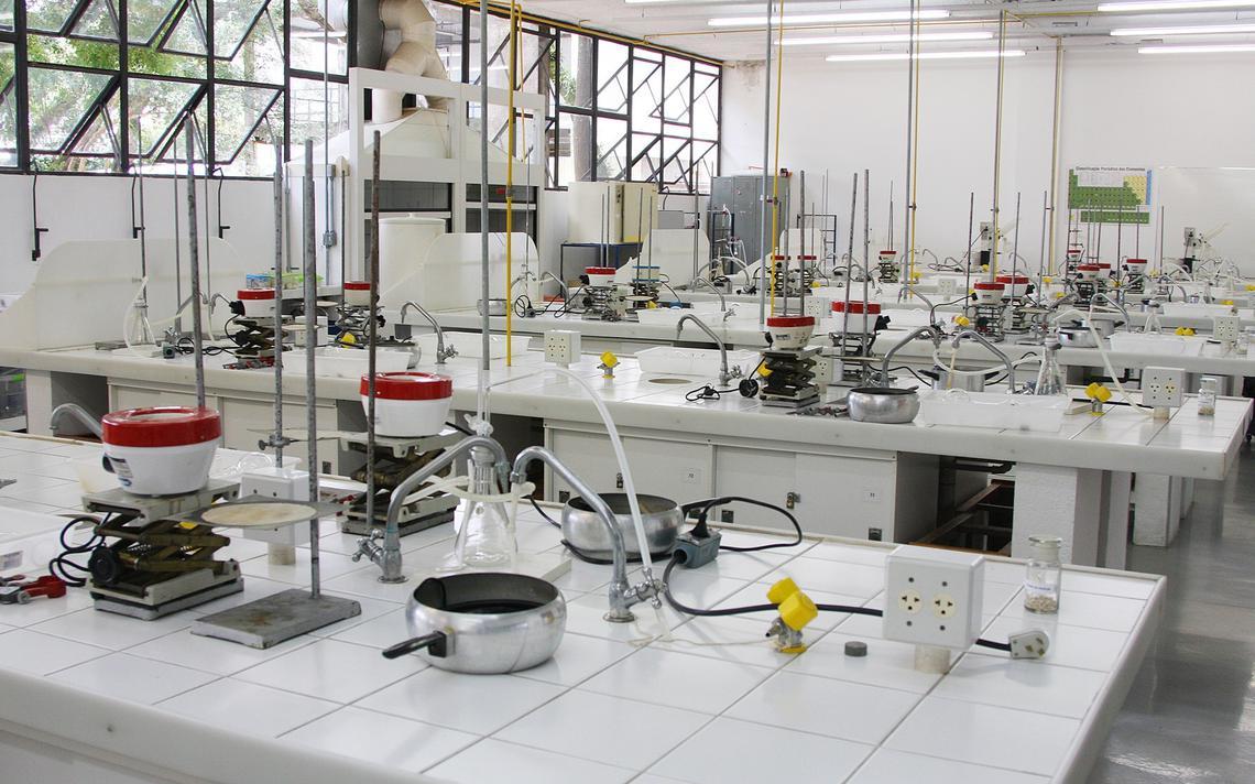 Laboratório do Instituto de Química da USP