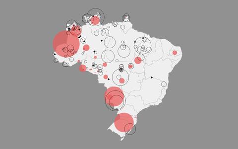 Risco de extinção: o mapa das línguas indígenas no Brasil