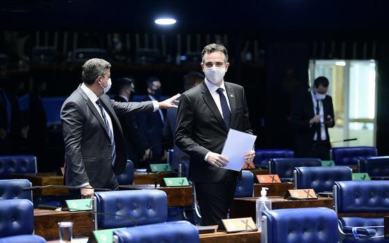 Pacheco e Moraes pedem moderação e respeito à democracia