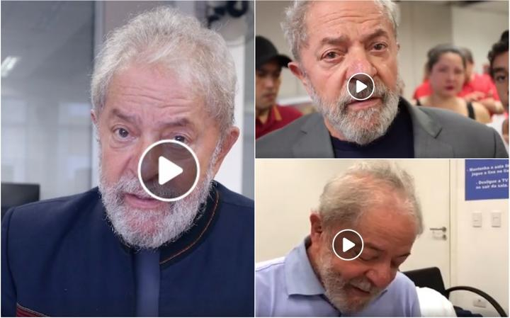 Vídeos do ex-presidente Lula