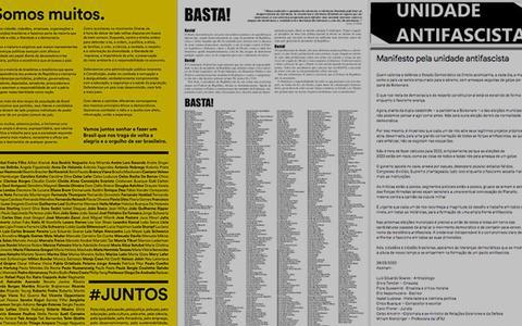 Manifestos em série: o que une e o que separa a oposição
