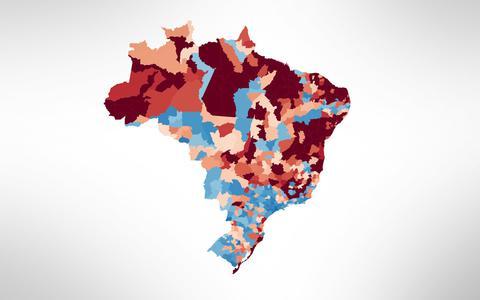 Distribuição dos homicídios pelo país