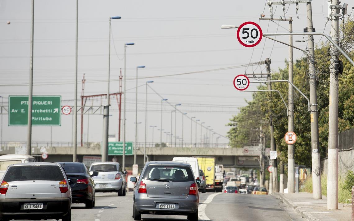 Marginal do Tietê, em São Paulo