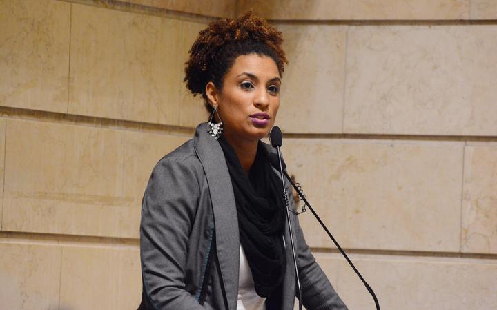 Vereadora Marielle Franco (Psol)