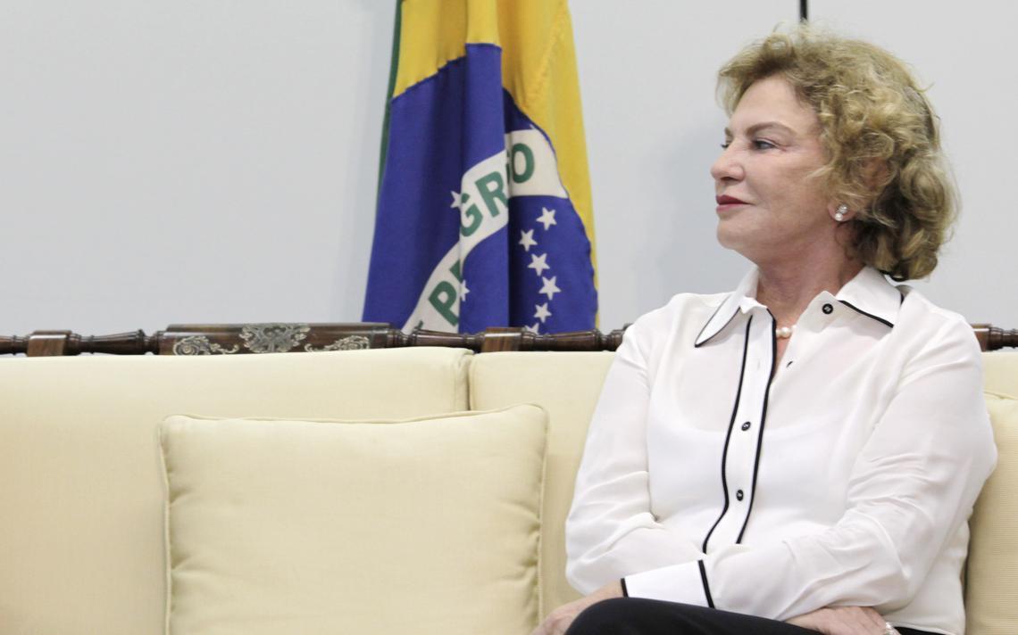 Primeira-dama Marisa Letícia
