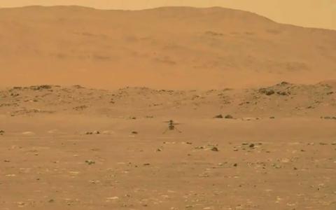 Como foi o voo inaugural do helicóptero da Nasa em Marte