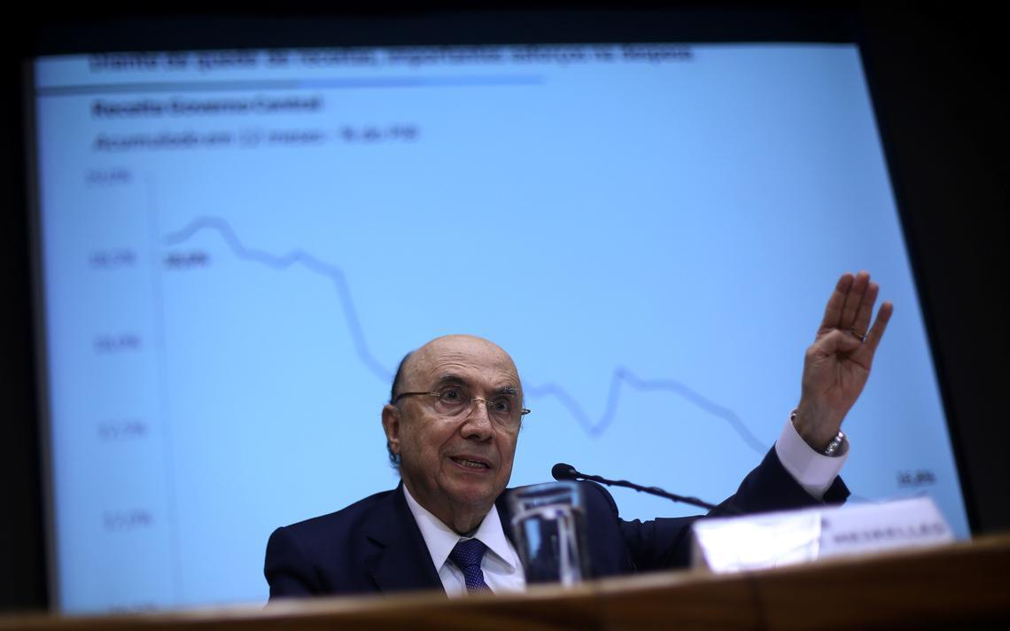 Henrique Meirelles justifica ampliação de déficit fiscal em 2017 e 2018