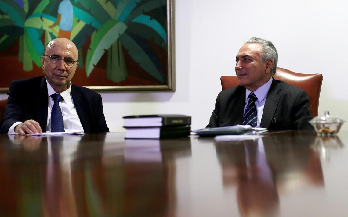 Ministro da Fazenda e presidente interino se reúnem em Brasília