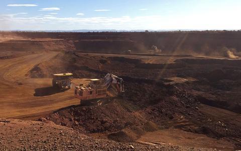 Como a recuperação da China levou ao boom do minério de ferro