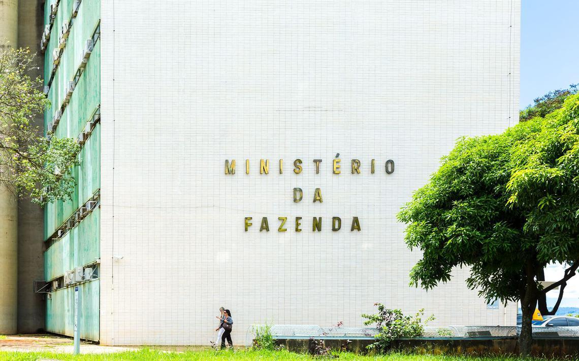 Prédio do Ministério da Fazenda na esplanada de Brasília