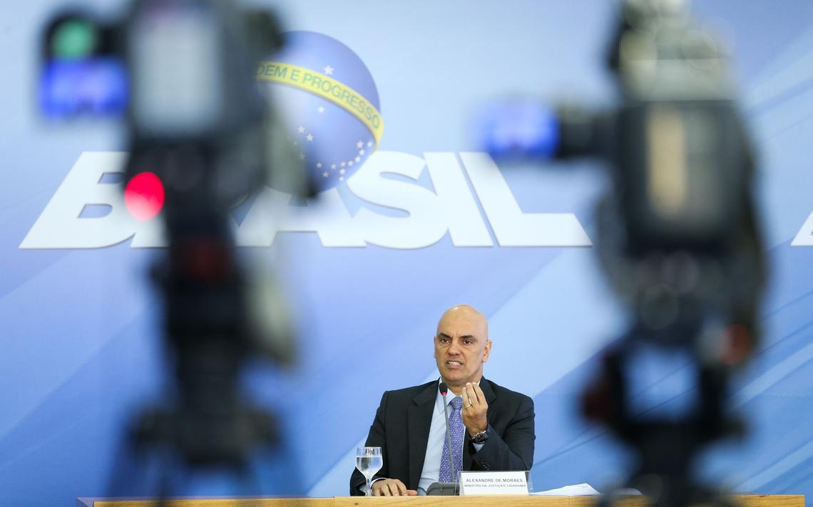 Ministro da Justiça, Alexandre de Moraes