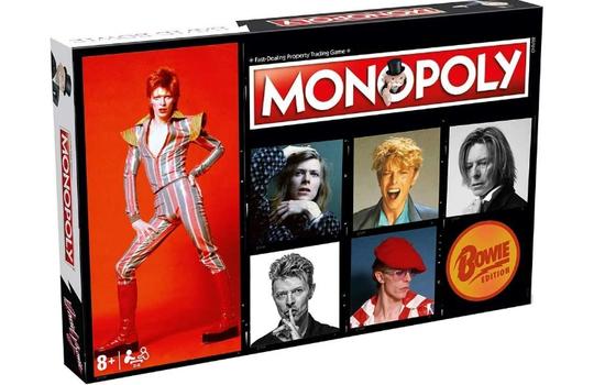 O Banco Imobiliário dedicado à carreira de David Bowie
