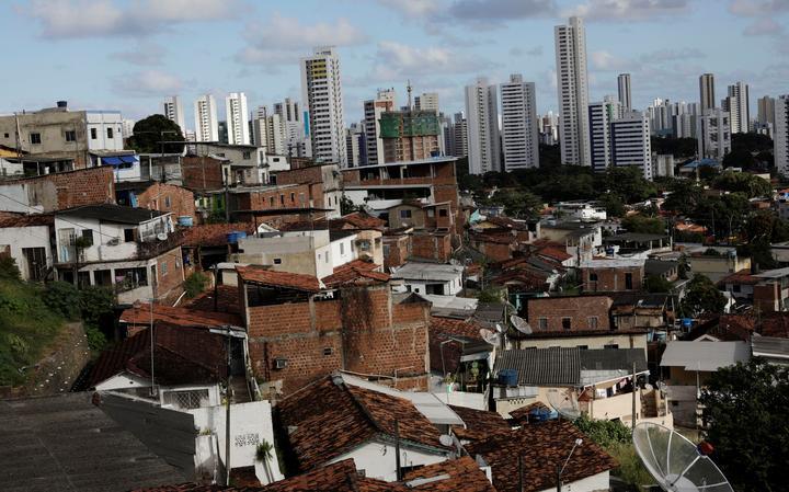 Vista do Morro da Conceição, no Recife