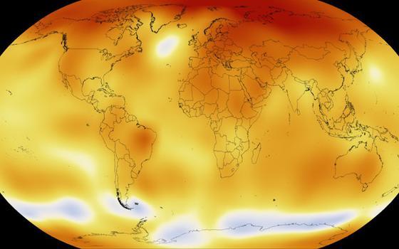 Mundo teve o fevereiro mais quente já registrado. Meta do clima está sob ameaça