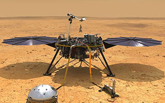 Sonda mapeia Marte por dentro e detecta 'martemotos'