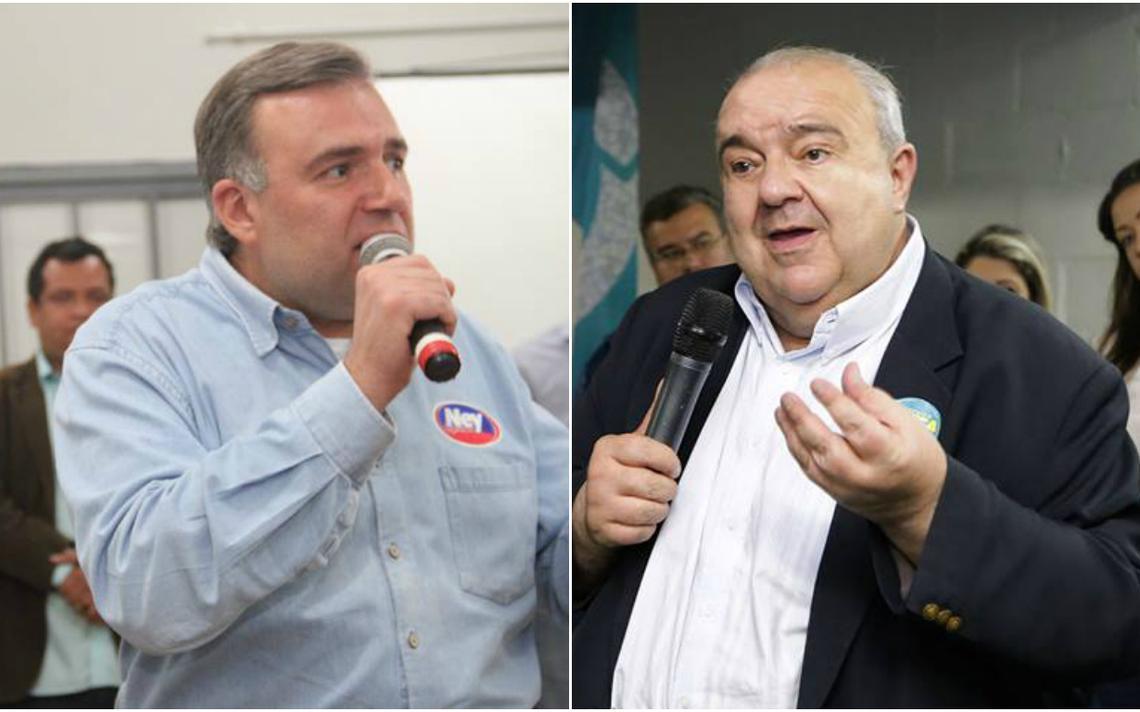 Candidatos à Prefeitura de Curitiba, Ney Leprevost e Rafael Greca