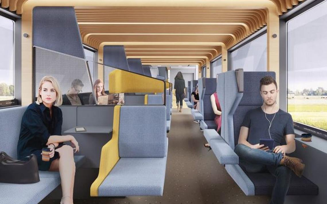 Trem holandês