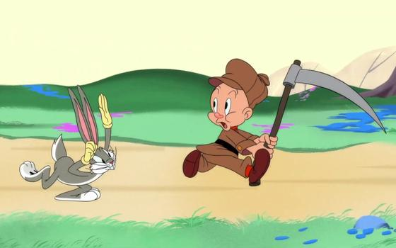 A volta do desenho 'Looney Tunes' sem armas de fogo