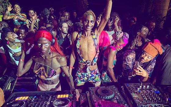 O festival que promove a música eletrônica africana, agora online