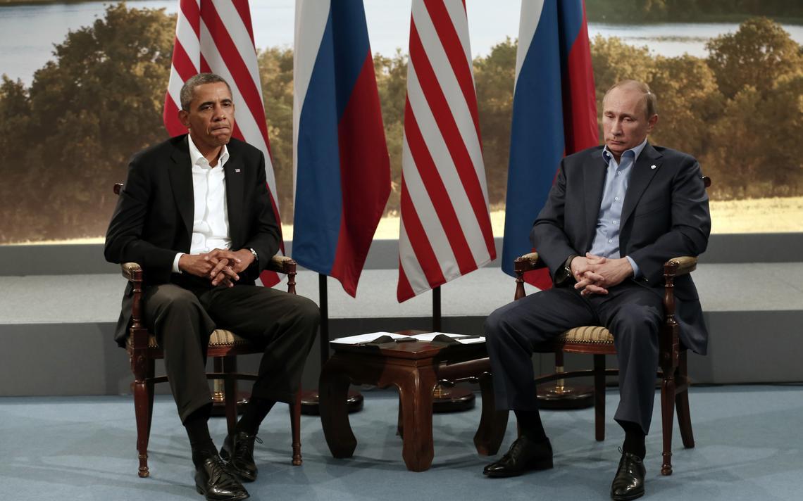 Presidentes dos EUA e da Rússia fazem evento bilateral