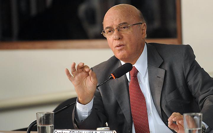 Othon Luiz Pinheiro da Silva, então diretor-presidente da Eletronuclear