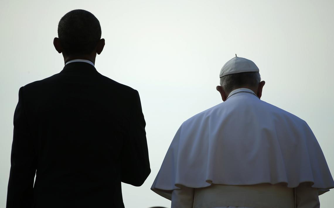 Líderes da Santa Sé e dos Estados Unidos