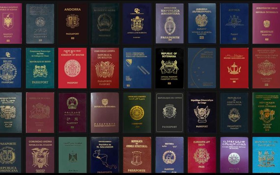 Site faz ranking e ordena passaportes até pela cor da capa
