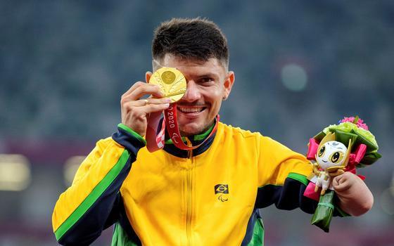 Brasil ganha 9 medalhas em melhor dia da Paralimpíada