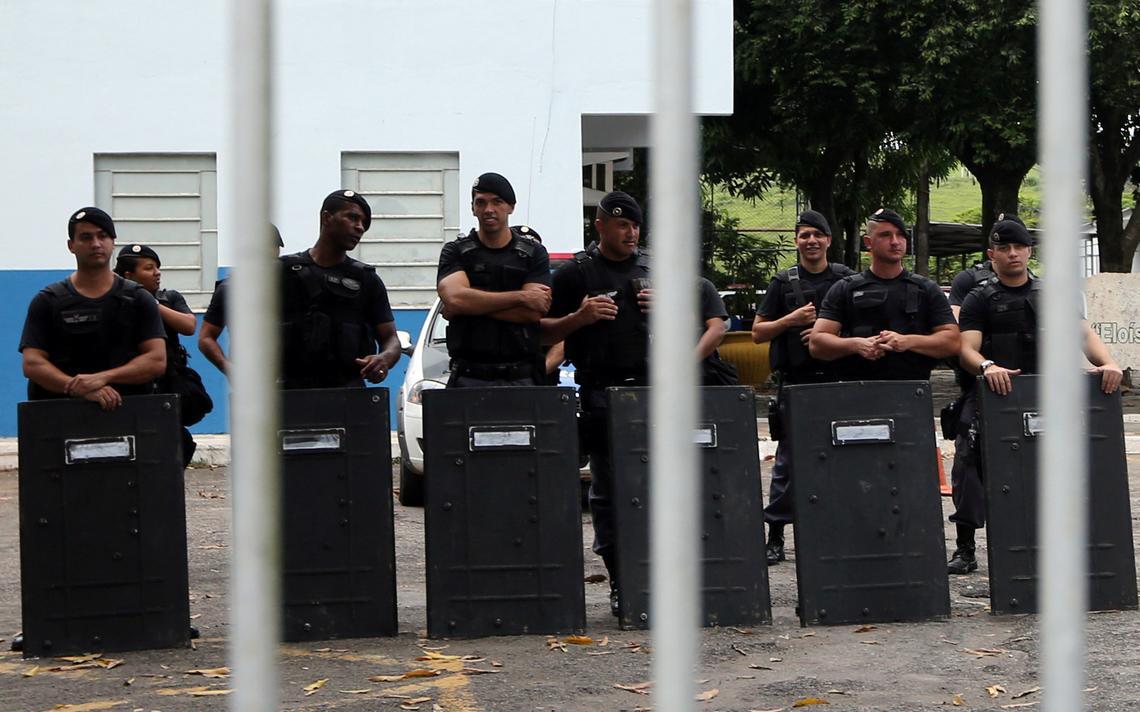 Paralisação dos policiais militares do Espírito Santo