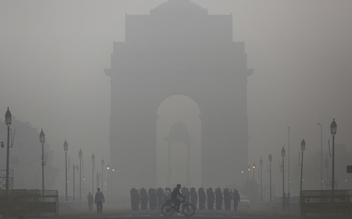 delhi poluição