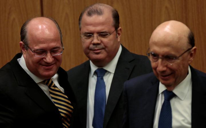 Ilan Goldfajn toma posse como presidente do BCB em cerimônia em brasília